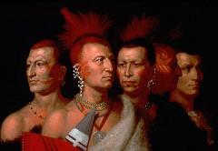 creek Indians sported Gaelic warrior Mohawks